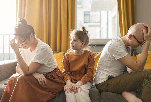 זוג בהליך גירושין